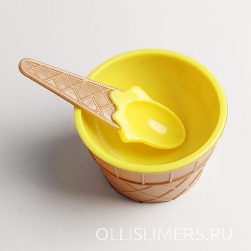Миска для слаймов, желтая
