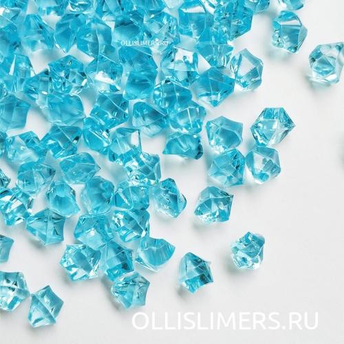 Кристаллы, голубые