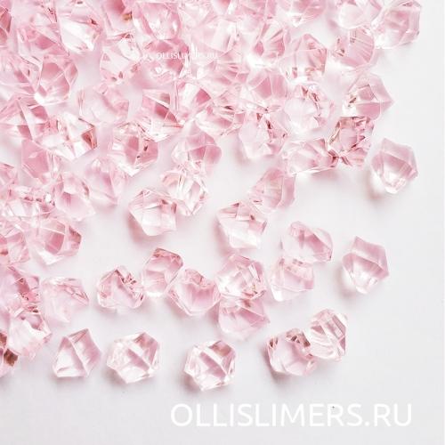 Кристаллы, розовые